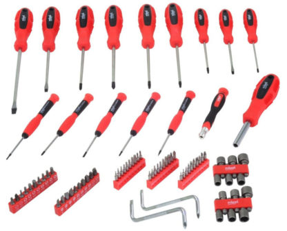 80 Piece Screwdriver Set