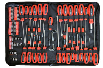 100pc Screwdriver & Bit Set