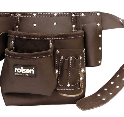 Oil Tan Double Tool Belt