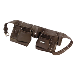 Oil Tan Double Tool Belt