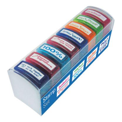 8pc Teacher Stamps
