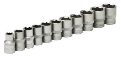 "11pc 3/8"" Drive Metric Sockets"