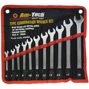 11pc Combination Spanner Set