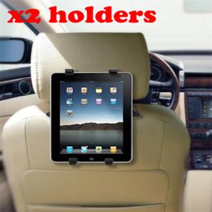 2x In Car Tablet / iPad Holder