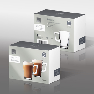 240ml Latte Glasses
