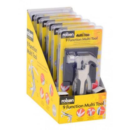 Rolson 9 Function Hammer Multi Tool