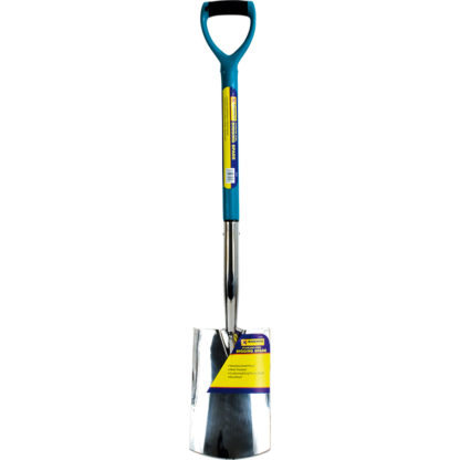 Stainless Steel Digging Spade with Plastic Handle