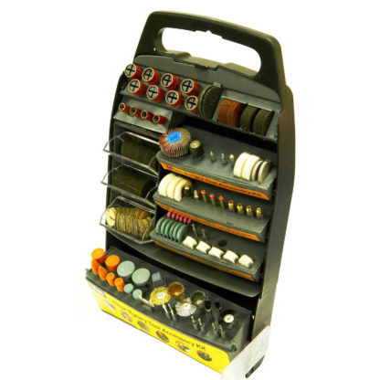 Rolson 400pc Rotary Tool Accessory Kit