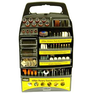 Rolson 400pc Rotary Tool Accessory Kit