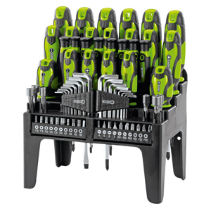 Draper Screwdriver, Bit and Hex Key Set (69 Piece)